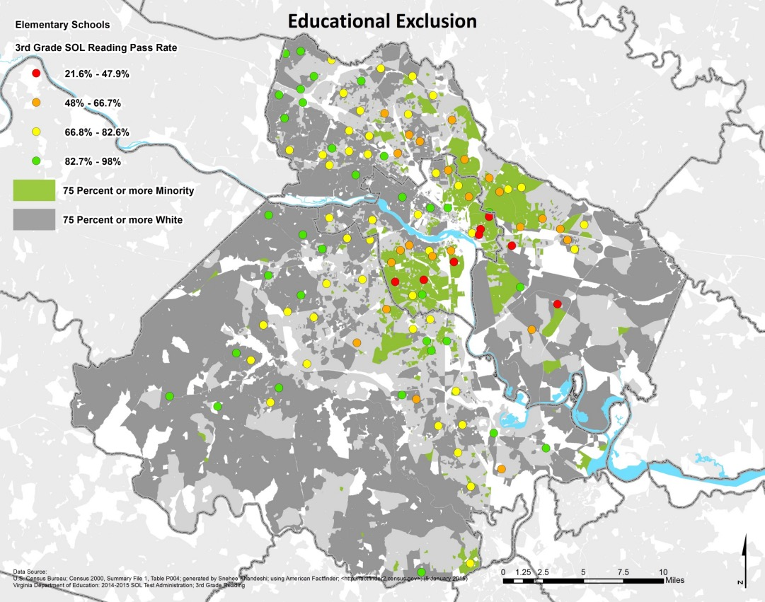 Education Exclusions in Richmond, VA