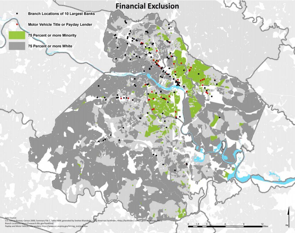 Financial Exclusion in Richmond, VA