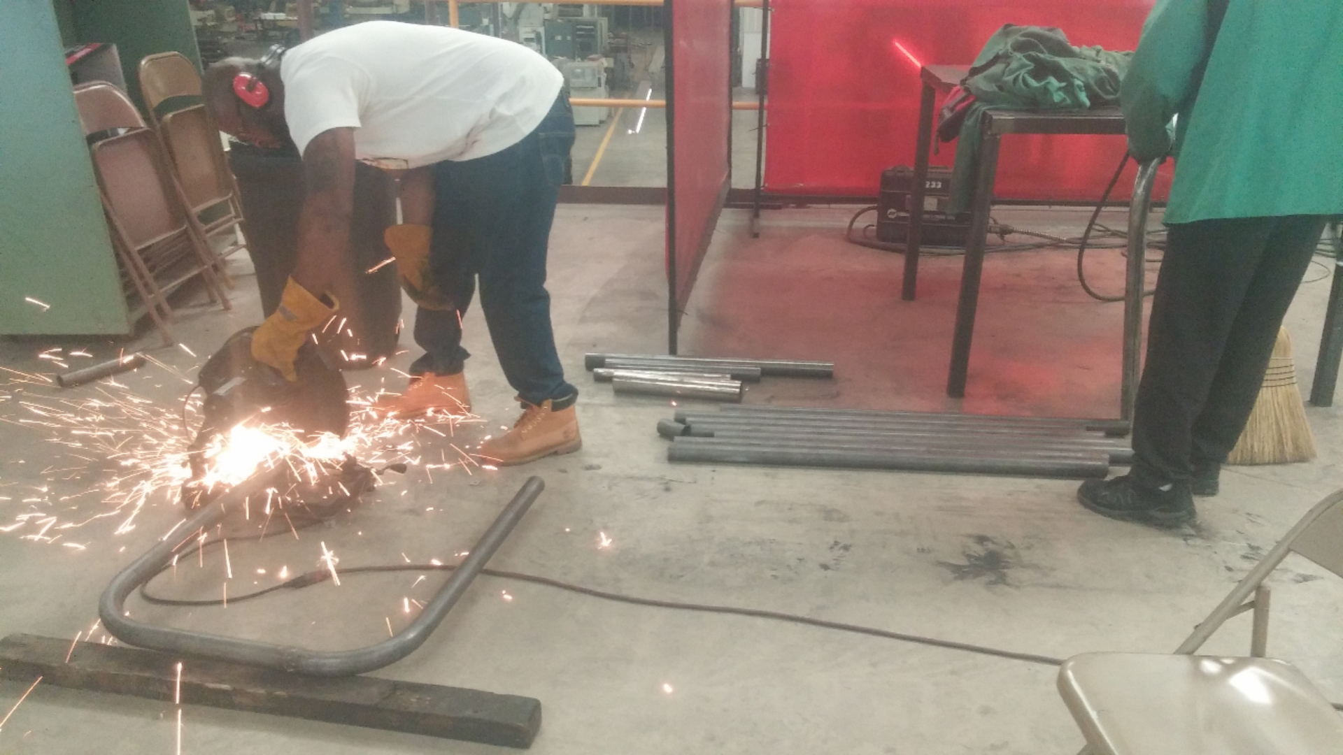Collaboration At Work: CWI Welding Program